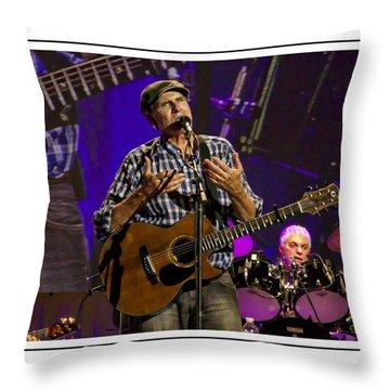 James Taylor Sweet Throw Pillow