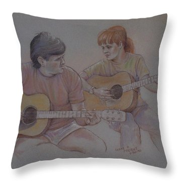 Jamin Throw Pillow by Duane R Probus