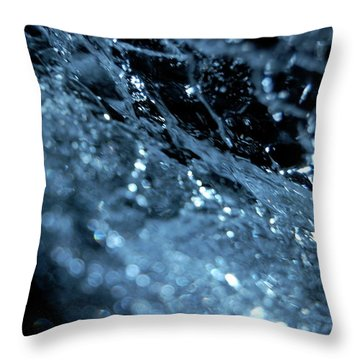 Throw Pillow featuring the photograph Jammer Abstract 006 by First Star Art