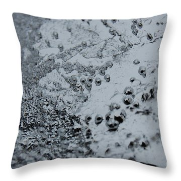Throw Pillow featuring the photograph Jammer Abstract 008 by First Star Art