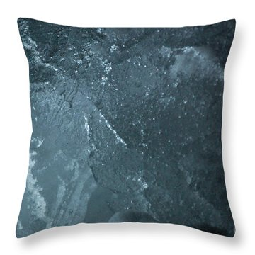 Throw Pillow featuring the photograph jammer Curacao Sanctum by First Star Art