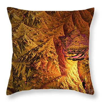 jammer Floating Palace Throw Pillow by First Star Art