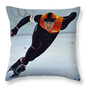 Jan Smeekens Throw Pillow