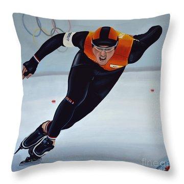 Jan Smeekens Throw Pillow