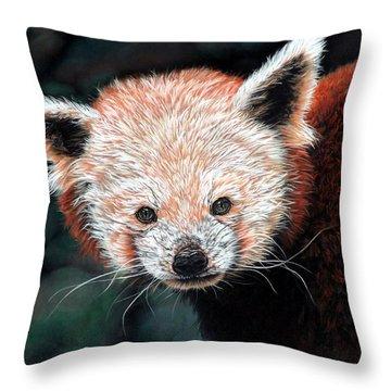 Jane Throw Pillow by Linda Becker