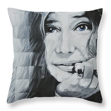 Janis 27 Throw Pillow
