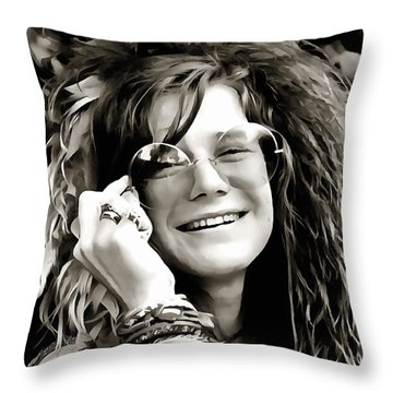Janis Throw Pillow