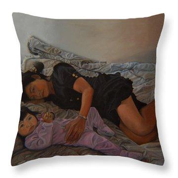 January Afternoon Mukilteo Washington Throw Pillow by Thu Nguyen