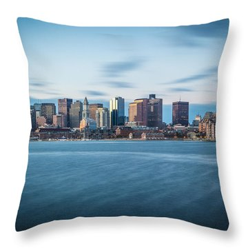January In Eastie Throw Pillow