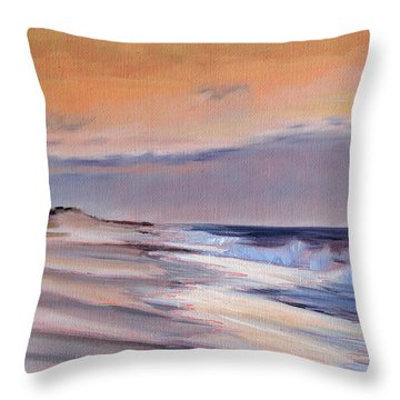 January Skies II Throw Pillow