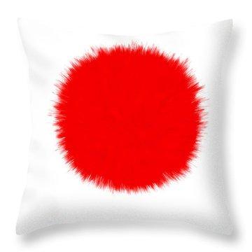 Emperor Of Japan Throw Pillows