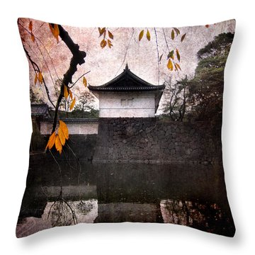 Japanese Autumn Throw Pillow