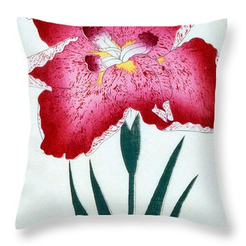 Japanese School Throw Pillow by Japanese School