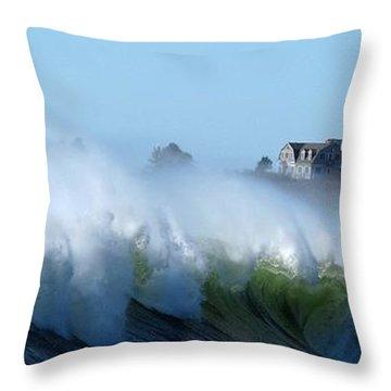 Jaquish Wave Throw Pillow