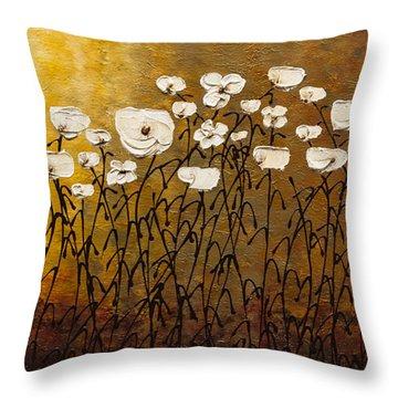 Jardin Botanique Throw Pillow