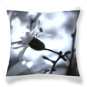 Jasmine Blossom Throw Pillow