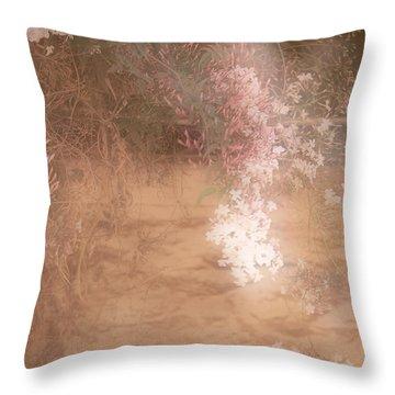 Jasmine Throw Pillow by Elaine Teague