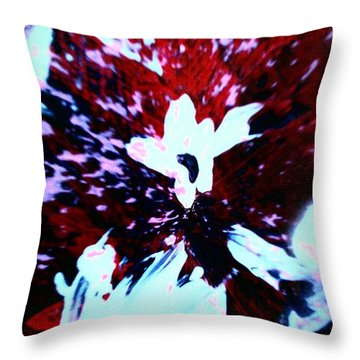 Throw Pillow featuring the painting Jasmine In My Mind  by Jacqueline McReynolds