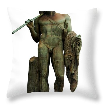 Jason And The Golden Fleece Throw Pillow