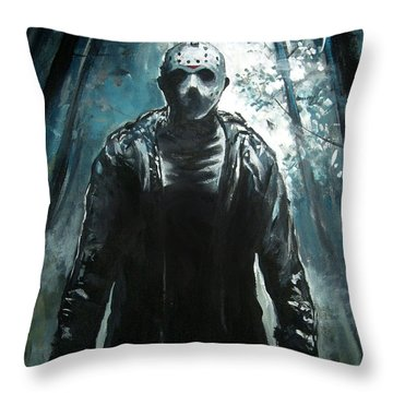 Jason Throw Pillow