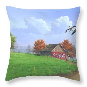 Jasper Autumn Throw Pillow
