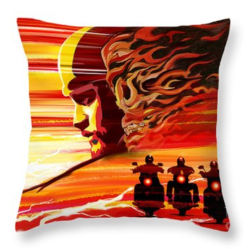 Jax Teller Throw Pillow