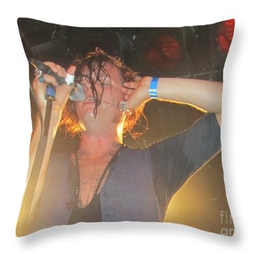 Jay Buchanan Rival Sons Throw Pillow