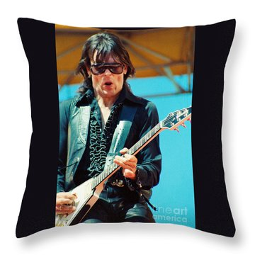 Jay Geils Of The J Geils Band- Day On The Green July 4th 1979 Throw Pillow
