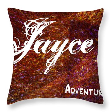 Jayce - Adventurous Throw Pillow by Christopher Gaston