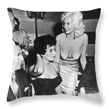 Jayne Mansfield Sophia Loren Photograph By Underwood Archives