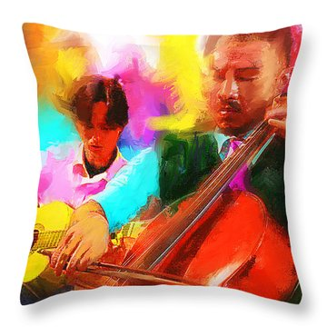 Jazz It Up  Throw Pillow