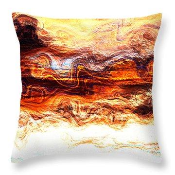 Jazz Throw Pillow by Richard Thomas