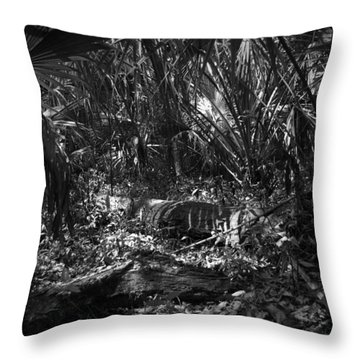 Jb Starkey Number One Throw Pillow by Phil Penne