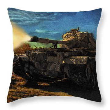Throw Pillow featuring the photograph Je Soutiens Charlie Hebdo  ... by Chuck Caramella
