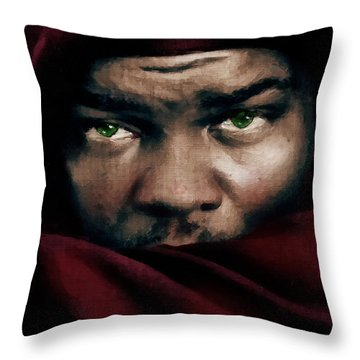 Jealous Othello Throw Pillow