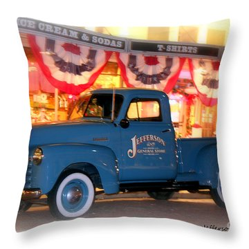 Jefferson General Store 51 Chevy Pickup Throw Pillow