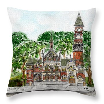 Jefferson Market Library Throw Pillow