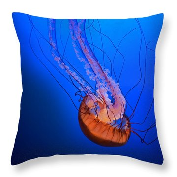 Jelly #1 Throw Pillow