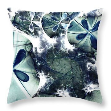 Jellyfish Throw Pillow by Anastasiya Malakhova