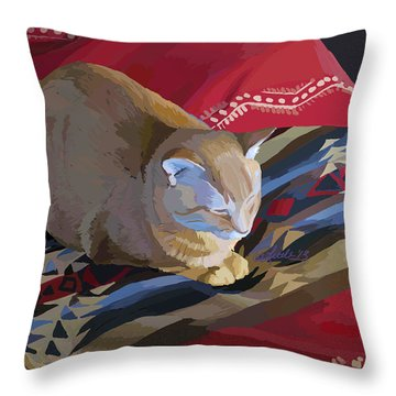 Jem And Blanket Throw Pillow