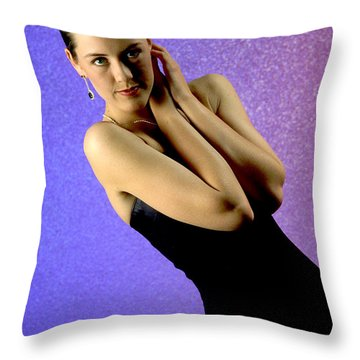 Jennifer Formal Lbd Throw Pillow by Gary Gingrich Galleries