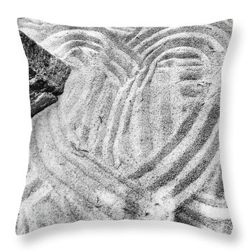 Jenn's Heart Throw Pillow by Judi FitzPatrick