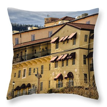 Jerome Grand Hotel No.18 Throw Pillow