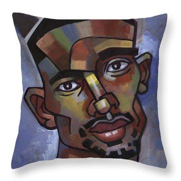 Jerome Has A Good Thought Throw Pillow by Douglas Simonson