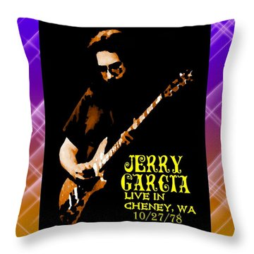 Throw Pillow featuring the photograph Jerry Cheney 1 by Ben Upham