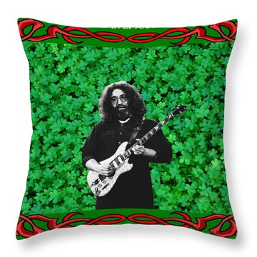 Throw Pillow featuring the photograph Jerry Clover 3 by Ben Upham