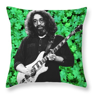 Throw Pillow featuring the photograph Jerry Clover 4 by Ben Upham