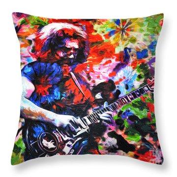 The Grateful Dead Throw Pillows