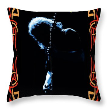 J G Of The G D Throw Pillow