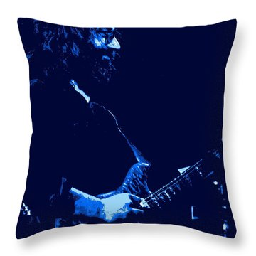 Jerry Happy At Winterland 2 Throw Pillow